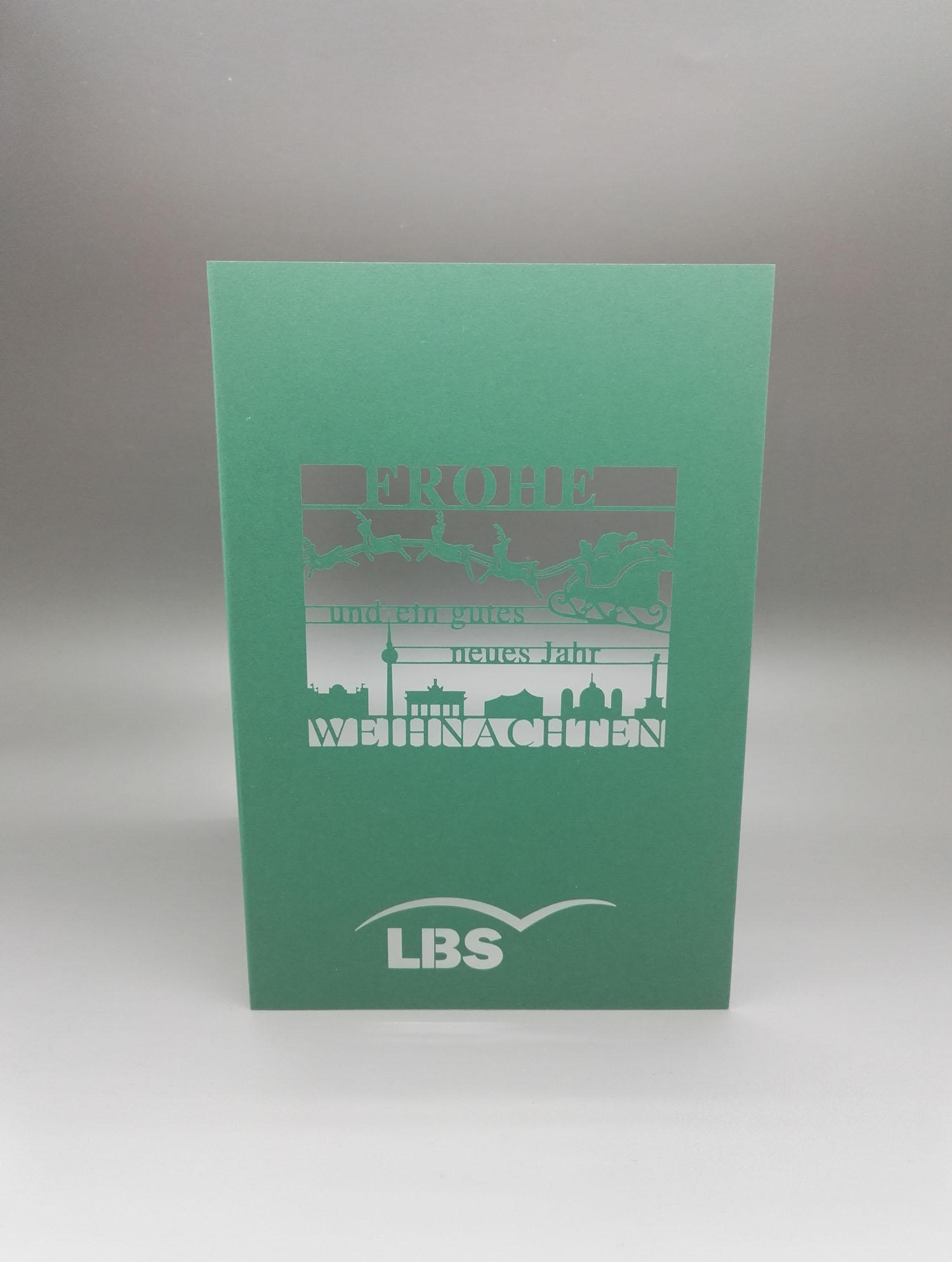 Weihnachtskarte der LBS